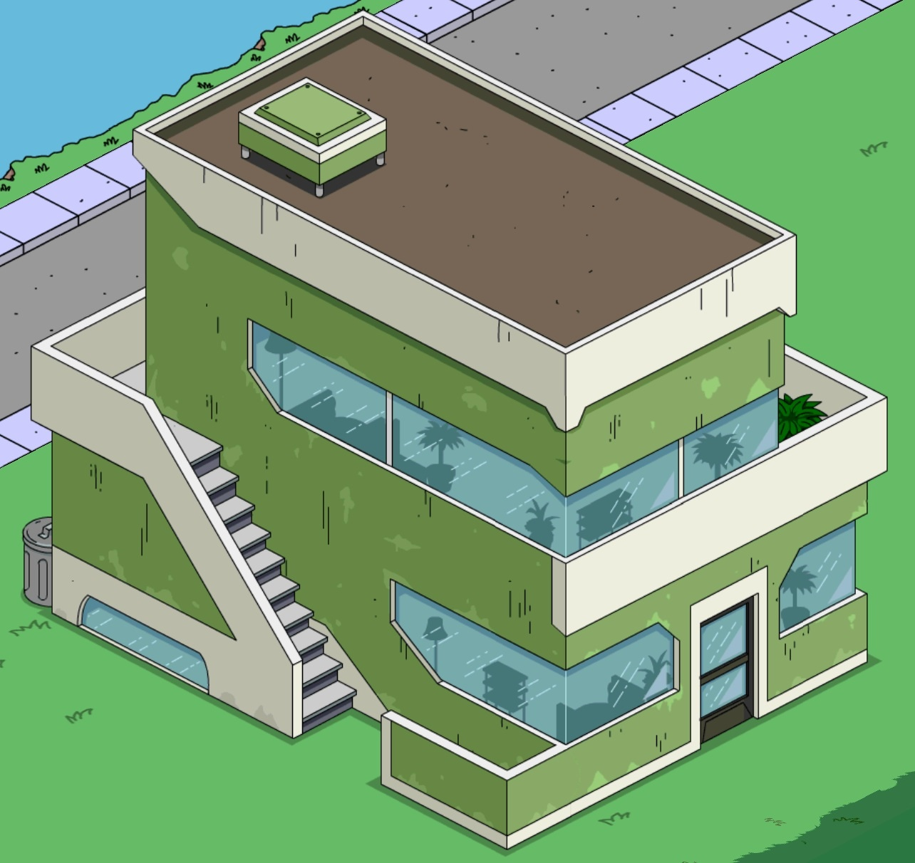 Zenith City Apartments The Simpsons Ted Out Wiki Fandom Ed By Wikia