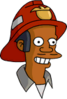 Fireman Apu Happy Icon