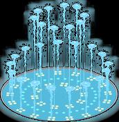 Water Show Fountain Menu