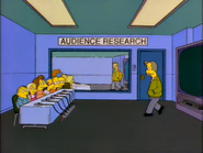 Audience Research Room in the show