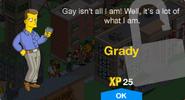 Grady Unlock Screen