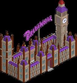 Britannia Casino Menu