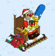 Marge's Gift from Homer at Santa Homie (1)