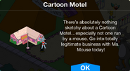 Cartoon Motel notification