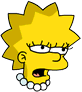 Lisa Exhausted Icon