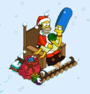 Marge's Gift from Homer at Santa Homie (2)