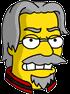 Matt Groening Angry Icon