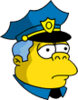 Wiggum Sad Icon