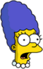 Baby Marge Surprised Icon