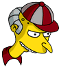 Softball Mr. Burns Icon