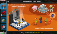 Homerpalooza Event Guide Act 1