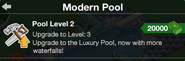 Pool Upgrade to level 3