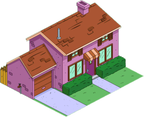 Purple House Espa 241 Ol The Simpsons Tapped Out Wiki
