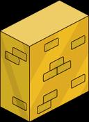 Solid Gold Brick Wall Menu