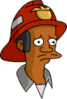 Fireman Apu Sad Icon