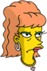 Amber Simpson Annoyed Icon