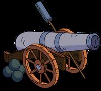 Pirate Cannon Menu
