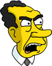 Richard Nixon Angry Icon