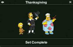 Thanksgiving Character Collection