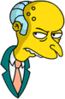 Mr. Burns Annoyed Icon