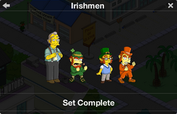 Irishmen Character Collection