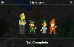 Irishmen Character Collection