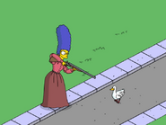 Mabel Simpson going hunting