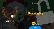 Squawky Unlock Screen