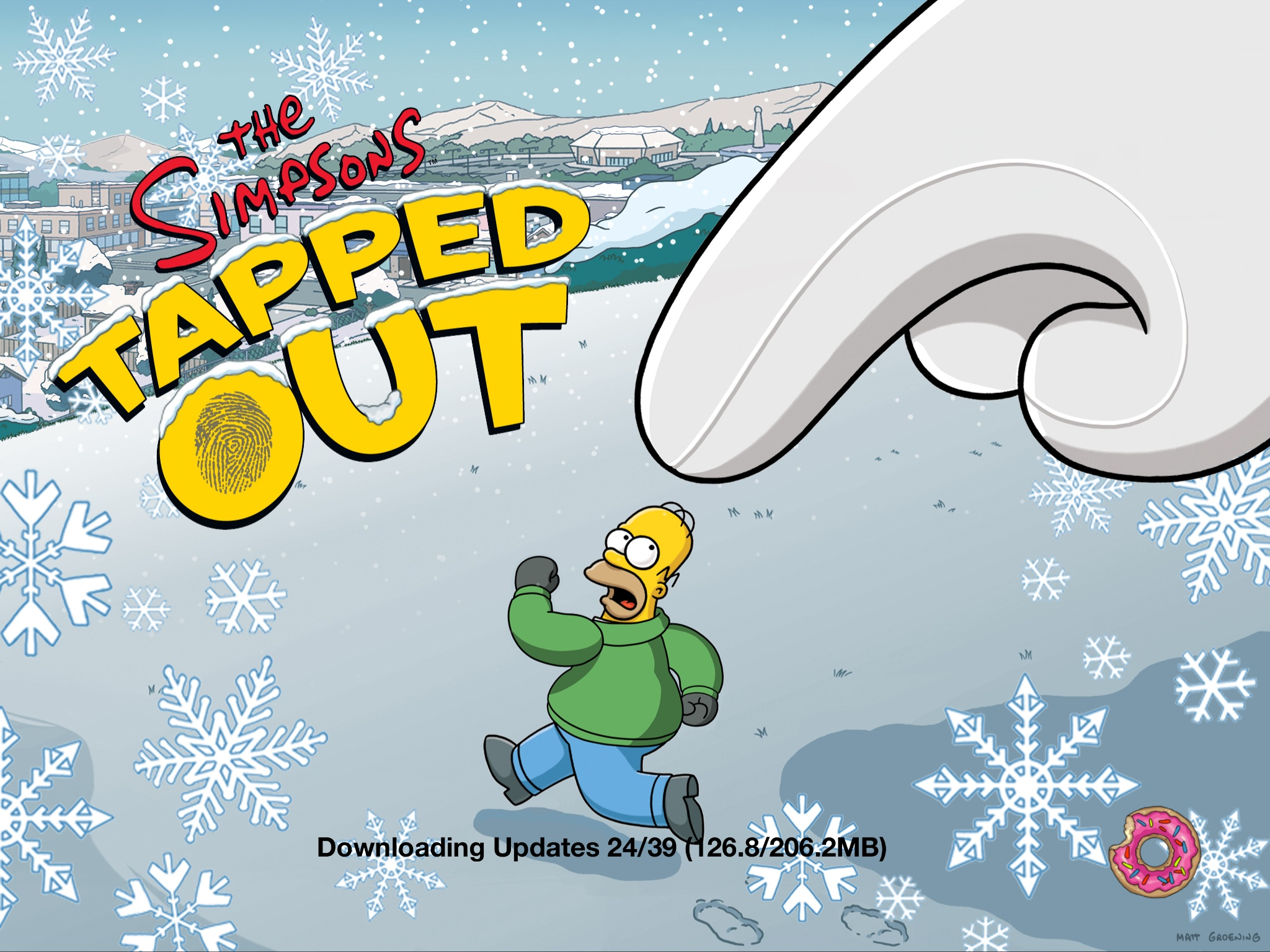 Simpsons tapped out christmas 2018 wheel prizes