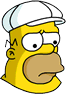 King-Size Homer Sad Icon