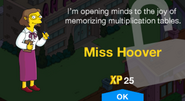 Miss Hoover Unlock Screen