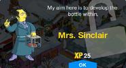 Mrs. Sinclair Unlock Screen