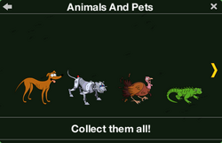 Animals and Pets Character Collection 1