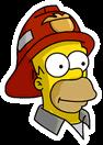 Homer Fireman Sidebar