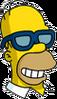 Homer Poochieglasses Happy Icon