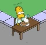 Abraham Simpson I Eating Fresh Donuts (2)