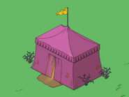 Fortune Teller Tent flipped animation