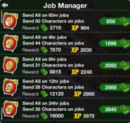 Job Manager Screen
