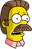 Ned Flanders Worried Icon