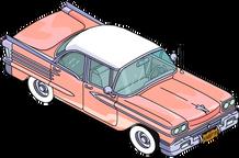 Pristine 1958 Car Menu