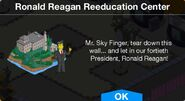 Ronald Reagan Reeducation Center notification