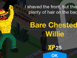 Bare Chested Willie
