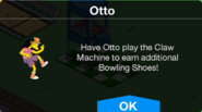 Claw Machine Otto owned Notification