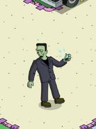 Frankenstein's Monster Making Phone Calls