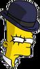 Clockwork Bart Sneaky Icon
