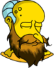New God Mr. Burns Dead Icon
