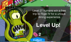 Level 27 Message
