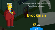 Tapped Our Brockman New Character
