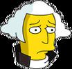 George Washington Sad Icon