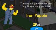 Iron Yuppie unlock screen